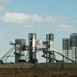 The almost ruined Baikonur Cosmodrome today.