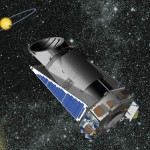 An artist rendering of the Kepler Space Telescope