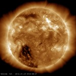 Solar Dynamics Observatory captured the flare in the Angstrom wavelength
