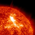 Solar Dynamics Observatory capture a close up of the solar flare