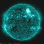 Solar Dynamics Observatory captures the solar flare