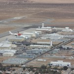A shot of the Mojave Spaceport from the air