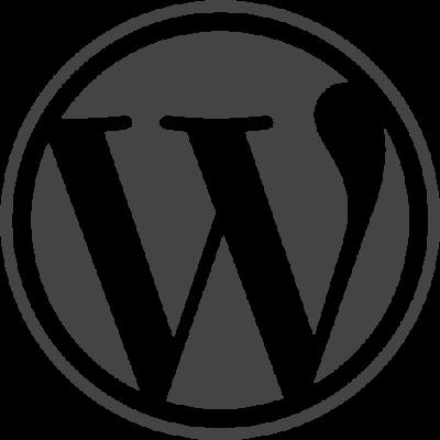 The WordPress logo