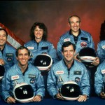 The photo of the STS-51-L crew lost in the Challenger Space Shuttle disaster