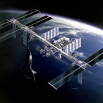 NASA Freedom Space Station after the 1991 redesign