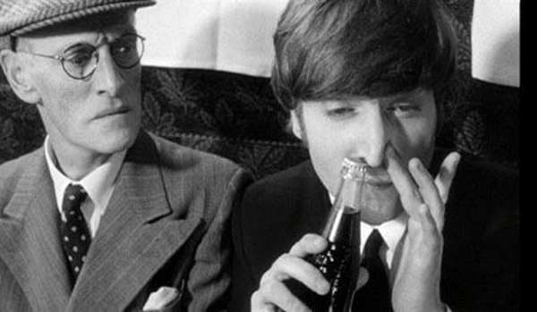 Beetles legend John Lennon snorting Coke