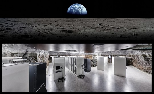 A data center in the moon.