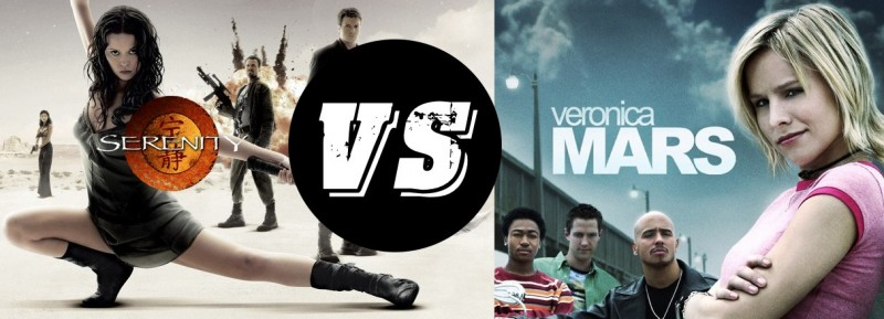 Veronica Mars / Serenity Faceoff