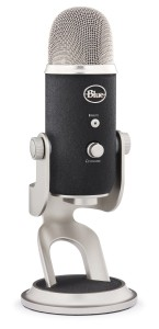 It's a sweet little package. Attach a pop filter to its stand and it's ready to go!