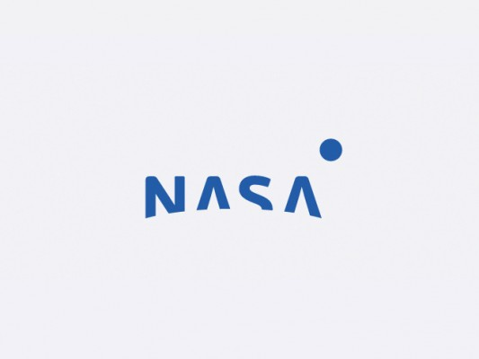 The most basic of Lapteff's proposed NASA logo designs.