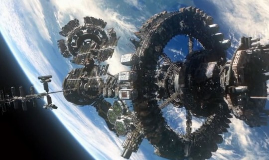 The Ark - The space station in The 100