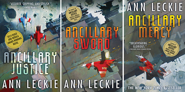 The Imperial Radch Trilogy Covers